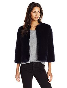 Ted Baker Women's Forysia Cropped Faux Fur Jacket, Mid Blue, 0 Ted Baker http://www.amazon.com/dp/B0179FOQFI/ref=cm_sw_r_pi_dp_Lprcxb1S4A6HS