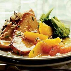 Φιλέτο γαλοπούλας σε καραμελωμένο σιρόπι πορτοκαλιού - Tlife.gr