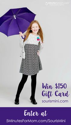 Win a $150 Gift Card to Souris Mini online clothing store for kids - Canadian only Giveaway - Ends Mar 5 2016