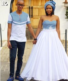 the best couples shweshwe dresses for We accept aggregate the ultimate account of couples analogous apparel account to advice booty your accord African Print Wedding Dress, African Wedding Attire, African Print Dresses, African Attire, African Wear, African Dress, African Weddings, African Traditional Wedding Dress, Traditional Outfits