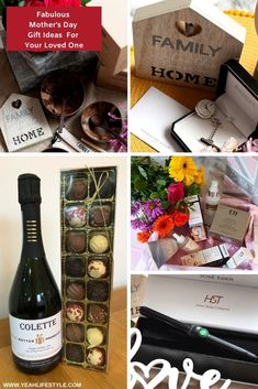 Fabulous Mother's Day Gift Ideas For Your Loved One Gifts For Your Girlfriend, Gifts For Dad, Thank You Presents, Family Gifts, Mother Day Gifts, Holiday Fun, House Warming, Lifestyle Blog, Gift Guide