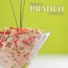 Salade crémeuse au crabe et à l'avocat - Recettes - Cuisine et nutrition - Pratico Pratique