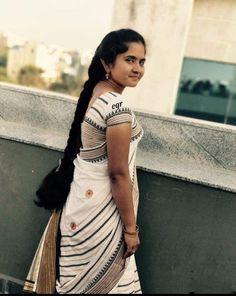 sexy braid ℳanmathan November 02 2018 at Beautiful Girl Indian, Beautiful Long Hair, Gorgeous Hair, Beautiful Braids, Beautiful Saree, Indian Long Hair Braid, Indian Girls Images, Long Hair Video, Black Girl Braids