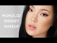 [MAKEUP] Monolid soft smokey eye makeup | dahyeshka - YouTube
