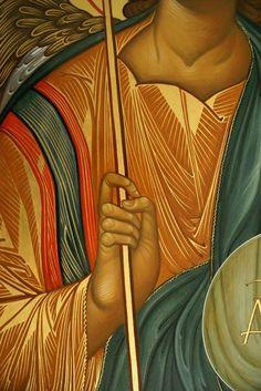 И Religious Icons, Religious Art, Icon Clothing, Byzantine Icons, Painted Clothes, Art Icon, Orthodox Icons, Painting Techniques, Case Study