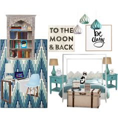 My Future Master Bedroom by gentryellen on Polyvore featuring polyvore, interior, interiors, interior design, home, home decor, interior decorating, Eurø Style, Jamie Young, Circo, Pottery Barn, Baccarat, DENY Designs, Crosley Radio & Furniture, Dot & Bo, Coach, Ella Doran, Hooker Furniture, Trilogy and bedroom Made by @GentryEllen