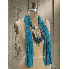 Dreamcatcher Charm Scarf - Western Wear, Equestrian Inspired Clothing, Jewelry, Home Décor, Gifts