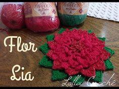 Crochet Granny, Free Crochet, Knit Crochet, Crochet Flower Tutorial, Crochet Flowers, Crochet Bedspread, Crochet Accessories, Diy Toys, Beautiful Crochet