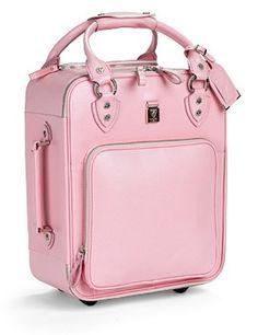 Pink suitecase
