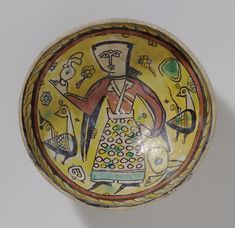 Bowl With Standing Figure