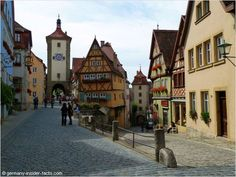 The Plönlein is Rothenburg ob der Tauber's most photographed landmark