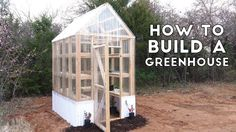 How to Build a Simple, Sturdy Greenhouse from 2x4's | Modern Builds | EP...