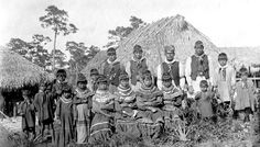 Seminole Tribe: First Photo on Record Taken at Pine Island, Florida