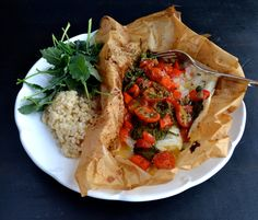 Tilapia en Papillote We eat this dish a lot! For several reasons. We try to eat fish once or twice a week and this is so easy and really flavorful. Tilapia is a really bland fish, but it's perfect for the bold flavors from the lemon, whole grain mustard and capers. This cleans up so [...]