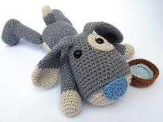 Puppy Hafi - Amigurumi Crochet Pattern / PDF e-Book / Stuffed Animal Tutorial by DioneDesign on Etsy https://www.etsy.com/listing/156939591/puppy-hafi-amigurumi-crochet-pattern-pdf
