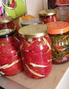 Mason Jars, Recipes, Food, Canning, Salads, Eten, Canning Jars, Recipies, Ripped Recipes