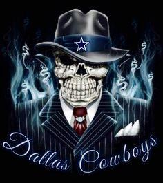 Dallas Cowboys Skull