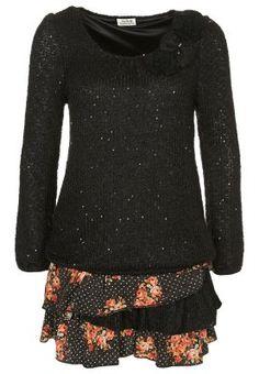Robe pull - noir
