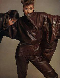 Only Leather — designerleather: Josie Borain and Jen Yarrow by...