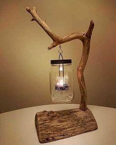 Simplesmente Fascinante Driftwood Furniture, Driftwood Projects, Diy Furniture, Rustic Furniture, Handmade Wood Furniture, Driftwood Ideas, Coastal Furniture, Driftwood Art, Furniture Projects