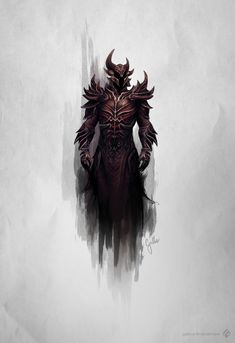 Ahhh, Daedric armour  ~Cassandra Anne