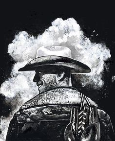 """Donald """"Cowboy"""" Cerrone artwork by Gian Galang : if you love #MMA, you'll love the #UFC & #MixedMartialArts inspired fashion at CageCult: http://cagecult.com/mma:"""