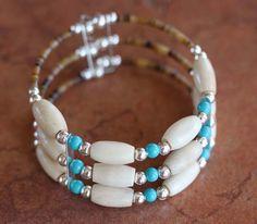 Native American Beaded Bracelets | NativeIndianMade.com - Navajo Native American Beaded Bracelet