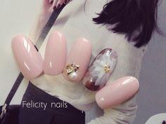 秋の新作デザイン〜! の画像|美肌で指長に!手が3倍美人になるネイルサロン(神戸 鈴蘭台) Fancy Nails, My Nails, Fabulous Nails, Beautiful Nail Art, Nail Arts, Winter Nails, Nail Designs, Beauty, Creativity
