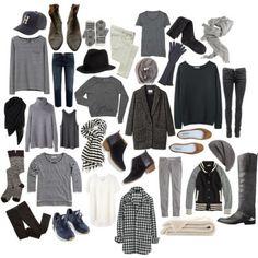 Wardrobe basics : Minimal + Classic