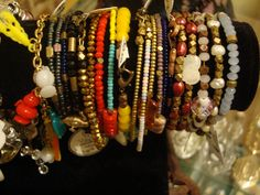 I have many gorgeous bracelets for spring this year!  You can find them downtown Asheville at Vintage Moon Modern or K2 Studio as well as on my etsy sight, arcanememory.etsy.com .  https://www.facebook.com/ArcaneMemoryDesign?fref=ts