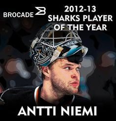 2012-13 San Jose Sharks Player of the Year