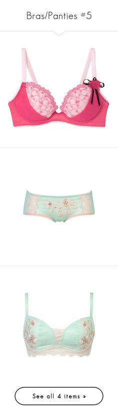 """Bras/Panties #5"" by kawaiipeachtea ❤ liked on Polyvore featuring underwear, intimates, panties, lingerie, pink, hanky panky boyshort, boy shorts lingerie, pink lace lingerie, underwear lingerie and lacy lingerie"