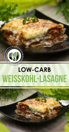 Die Weißkohl-Lasagne ist meine liebste low-carb Variante. Sie ist einfach zu machen, schmeckt lecker und macht satt.