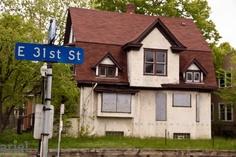 Nicole Curtis Rehab Addict -Dollar House- BEFORE #Ariel Photography #Minneapolis