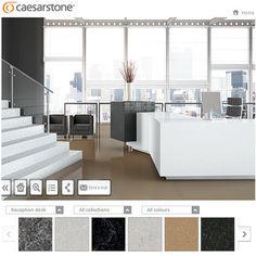 Stunning Caesarstone Visualizer IkeaEscena