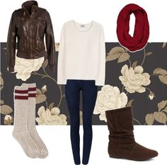 """""""comfy casual fall outfit"""" by aprilfievoli99 ❤ liked on Polyvore"""