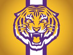 Dribbble - CONCEPT - LSU Tiger by Torch Creative