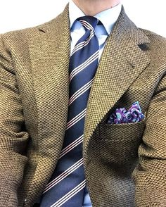 "gusvs9 - ""  Brown tweed week continues, today in a vintage barleycorn tweed made up by #liverano . #bespoke #classicstyle #liveranoeliverano #style #wiwt #instadaily #sartoriacorcos  """