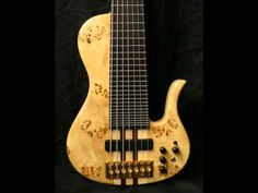 7 strings bass piezo sample - Hand made by Marco Albanese (Loud guitars)