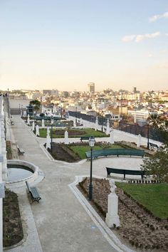 São Pedro de Alcântara belvedere. From here you can get an amazing view of the entire city. This belvedere is quite near to Bairro Alto, an old neighborhood full of   restaurants and bars