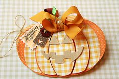 Homespun with Heart: Shape up series: pumpkin-adorable!