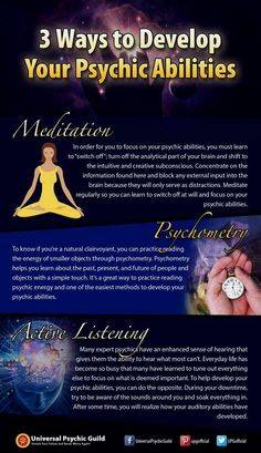 3 Ways to Develop Your #Psychic #Abilities - www.psychicguild....