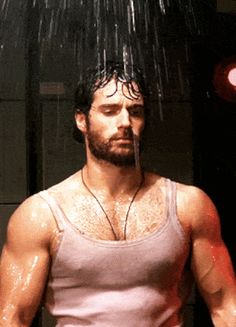 All right, it's time to bring out the big guns. Like those on Henry Cavill.