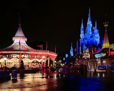 Experience a theme park with no one else in it!