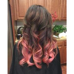 pink ombre love this hair color   LOVE IT!!!!!!!!- When I graduate college-a congratulations to me!!! :)