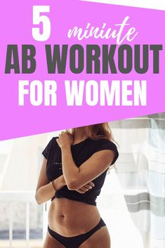 Minute women workout get flat toned abs with this super quick 5 minute ab workout for women using a mix of exercises to work your entire core abs workout for women 30 day ab workout challenge 5 Minute Abs Workout, Ab Core Workout, Workout List, Best Ab Workout, Abs Workout Routines, Abs Workout For Women, Workout Challenge, Men Exercise, Workout Men