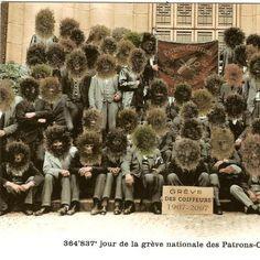 grève des coiffeurs!!!