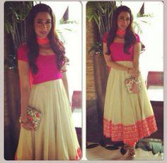 pretty in pink @Nashrah Moin Moin Ansari