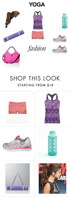 """""""Ready for some meditation"""" by hennapaisley ❤ liked on Polyvore featuring Free People, Athleta, New Balance and Victoria's Secret"""
