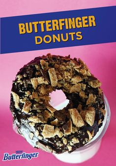 Add the crispety, crunchety, peanut-buttery taste of BUTTERFINGER® to your next doughnut. Top this delicious treat with a chocolate glaze, and sprinkle crumbs of BUTTERFINGER® candy bars on top. Starting your day off with a Candy Bar Doughnut will keep you looking forward to mornings.